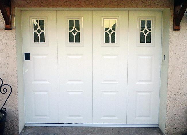 Portes de garage scarabaies - Porte sectionnelle avec portillon tarif ...